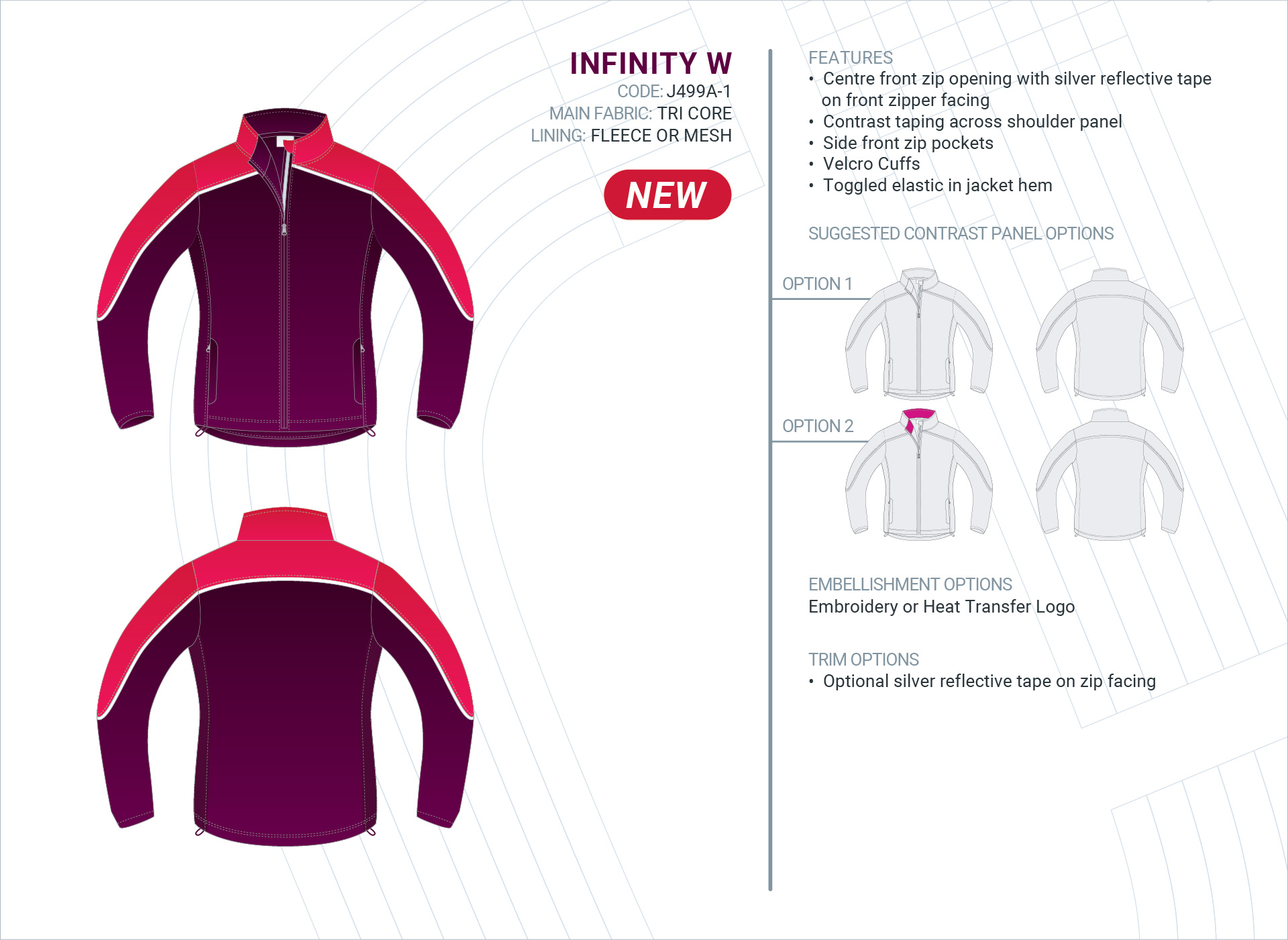 Women's  Infinity  Tri-Core Jacket