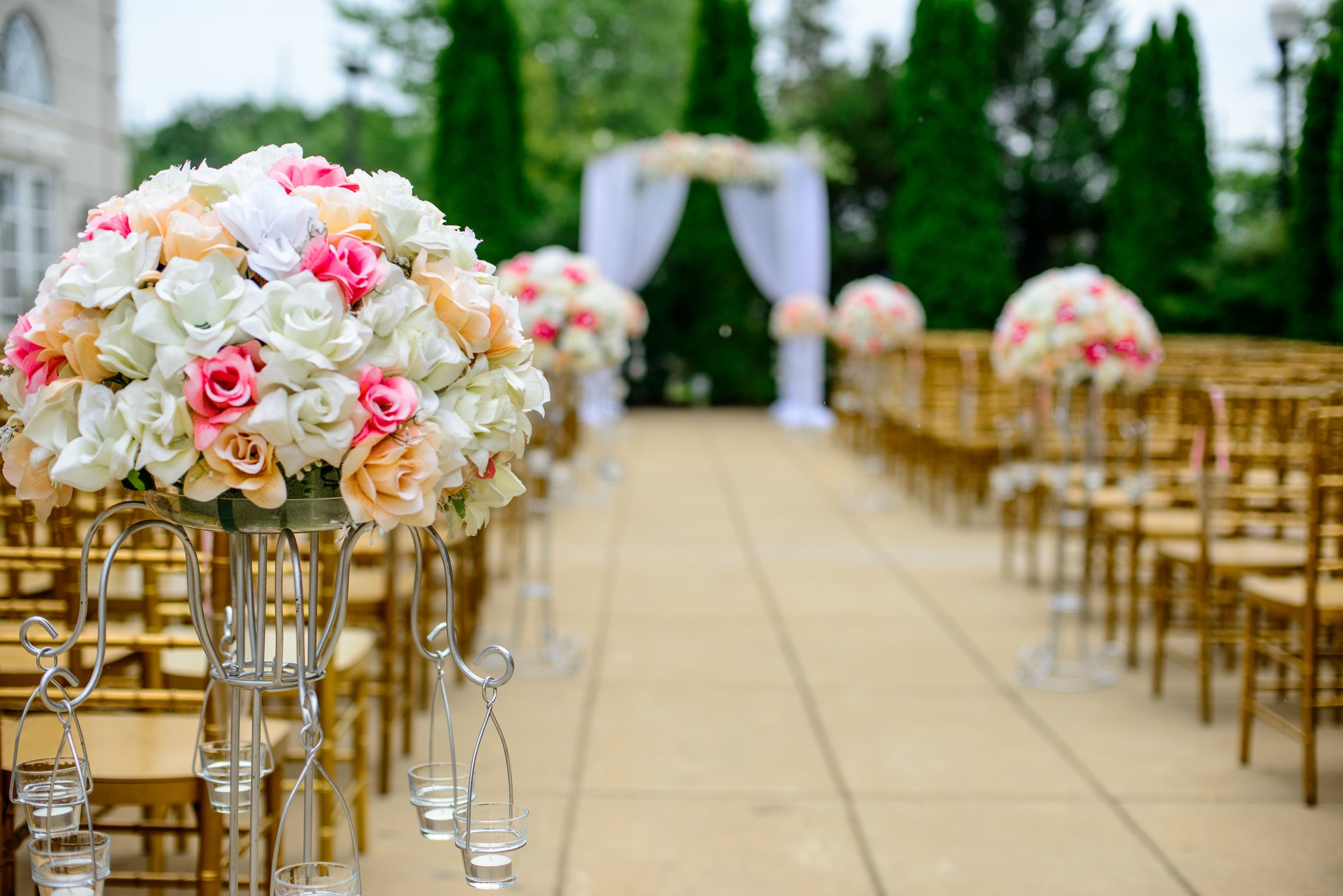 Ceremony Sound System  -add a second sound system for your ceremony.