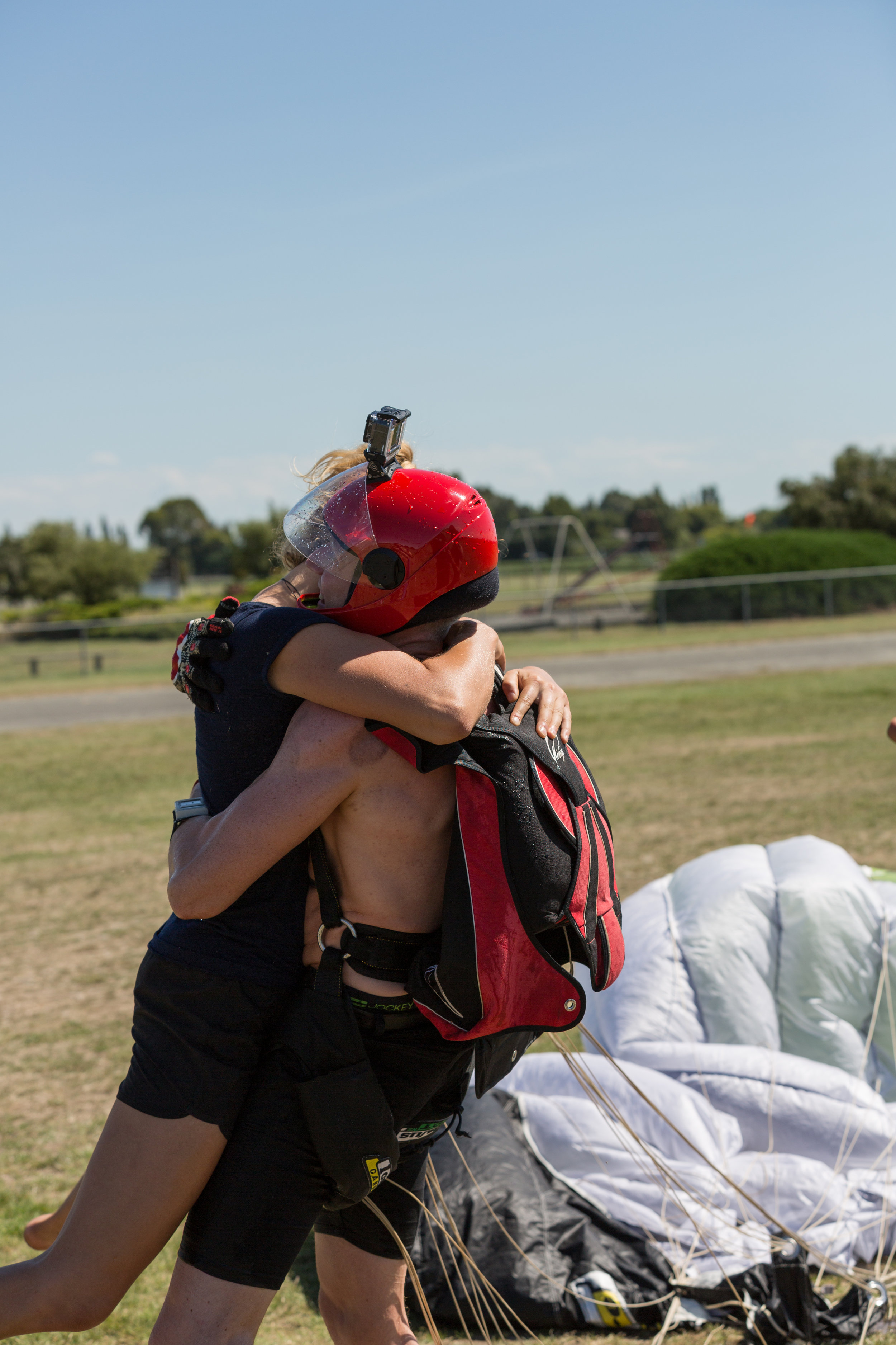 the skydiving kiwis team is a big family