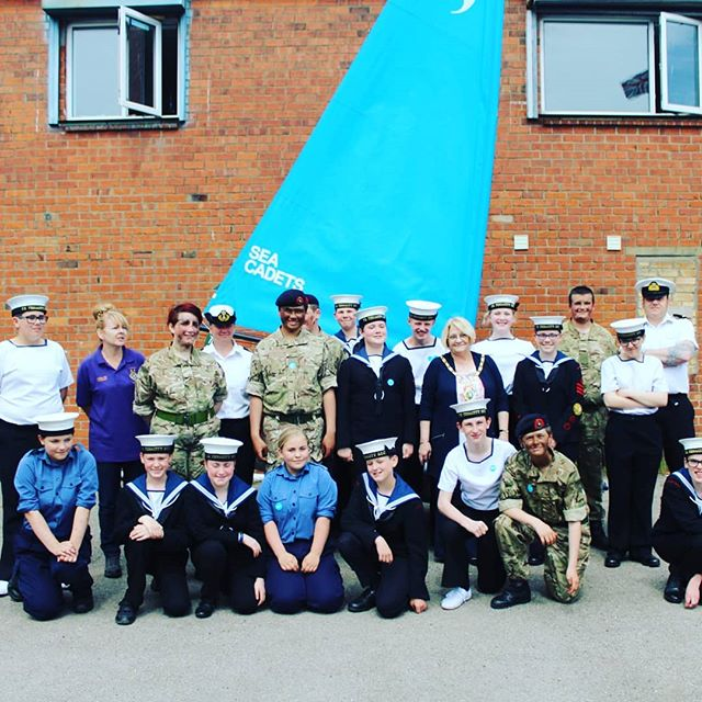 This weekend we were live from the Sea Cadets in Ashington #music #radio #northumberland #cadets #seacadets #ashington