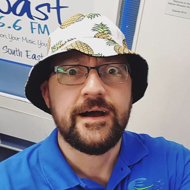 It's National Pineapple day! So here is Marky Mark sporting his best pineapple headwear! #radio #music #northumberland