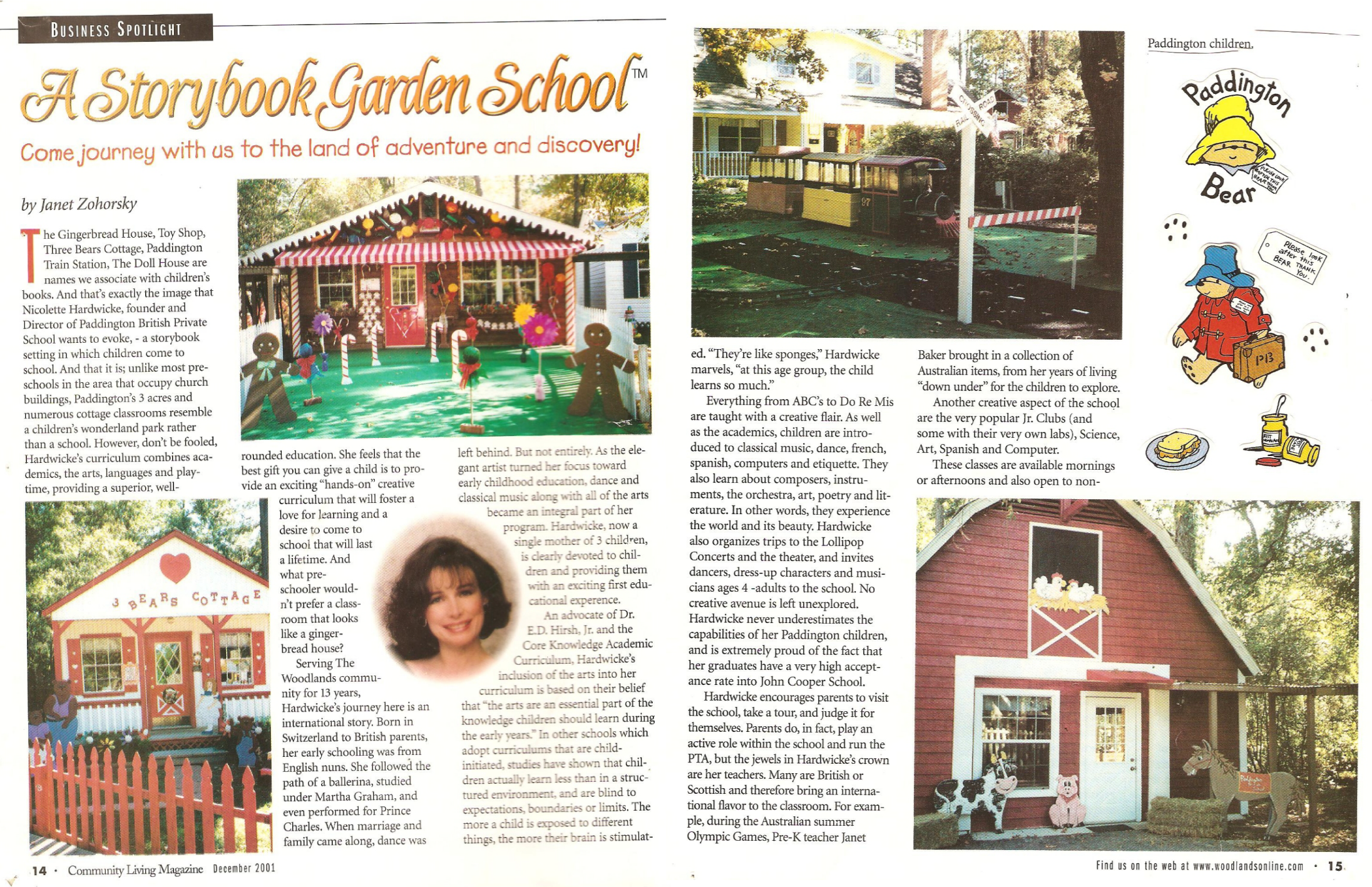 Business Spotlight: A Storybook Garden School.