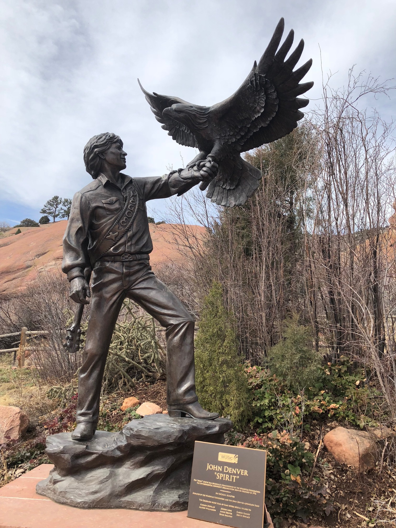 Being from West Virginia means that John Denver and his song Country Roads has a special place in my heart, so it was very exciting to see the statue