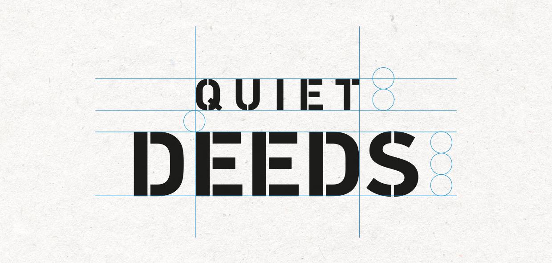 Quiet Deeds logo