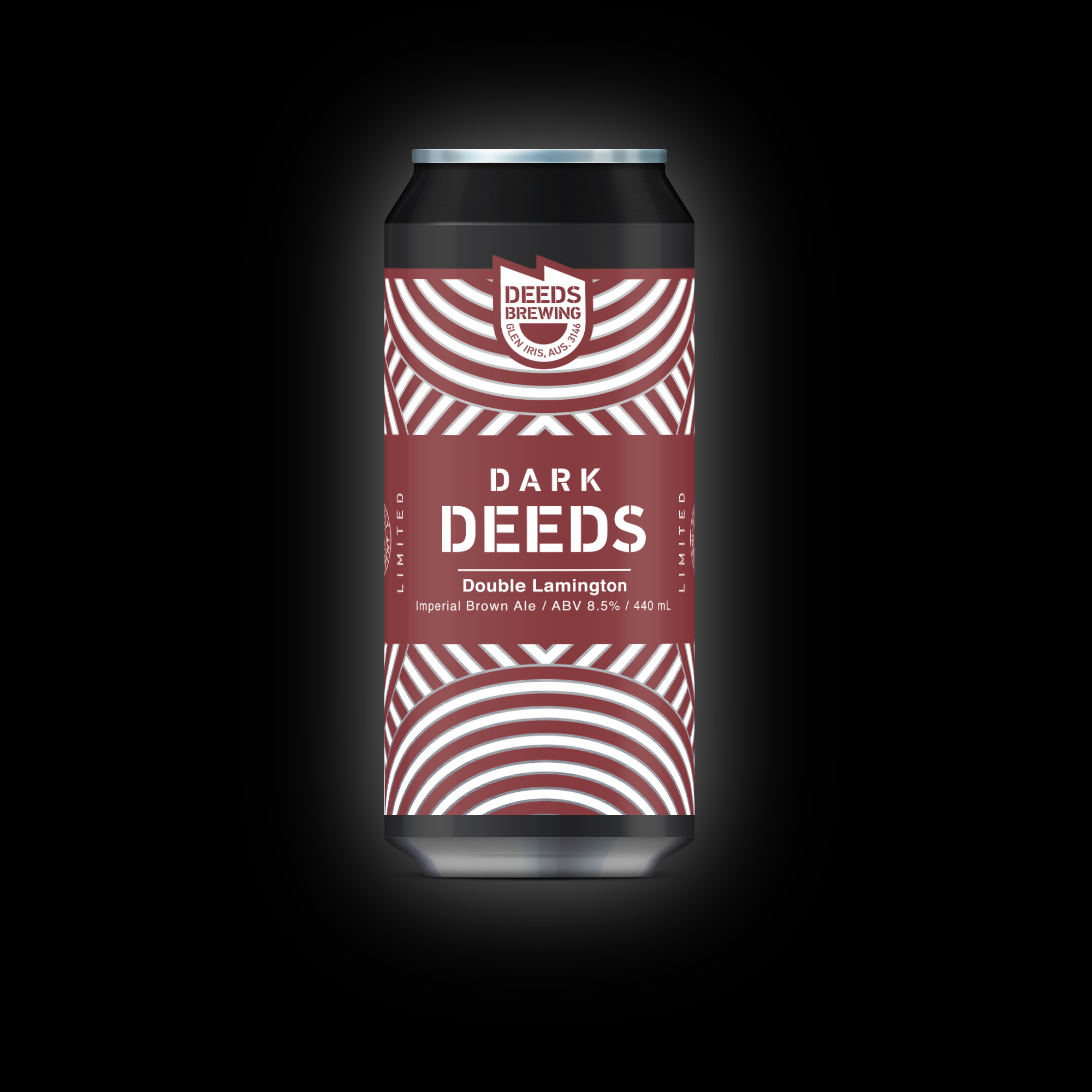 Double Lamington part of the Dark Deeds Series