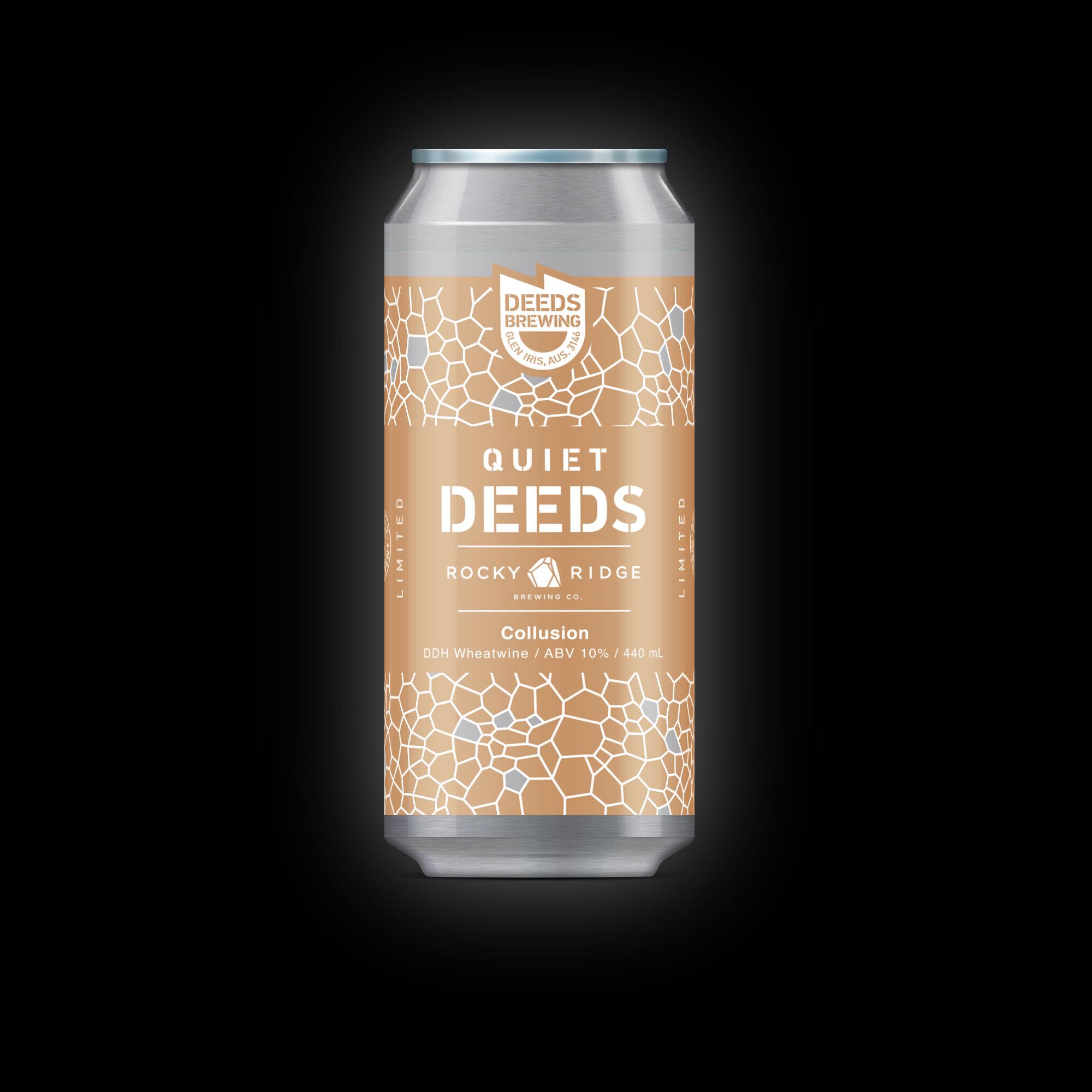 Deeds Brewing & Rocky Ridge Collusion