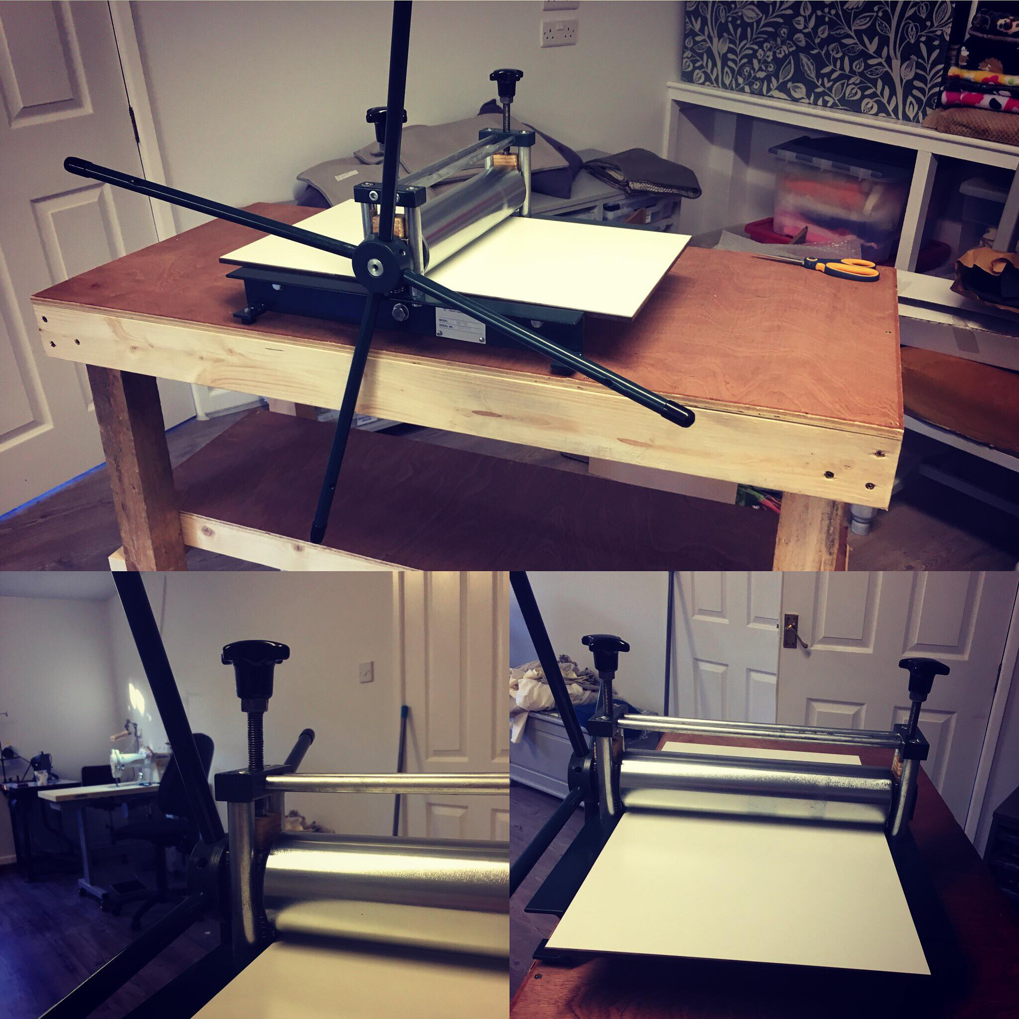 Our Etching Press