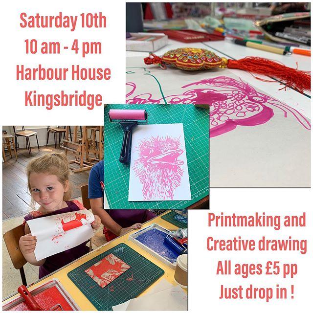 @harbour.house.arts.yoga this Saturday #workshop #kids #summer #summerholiday #kingsbridge