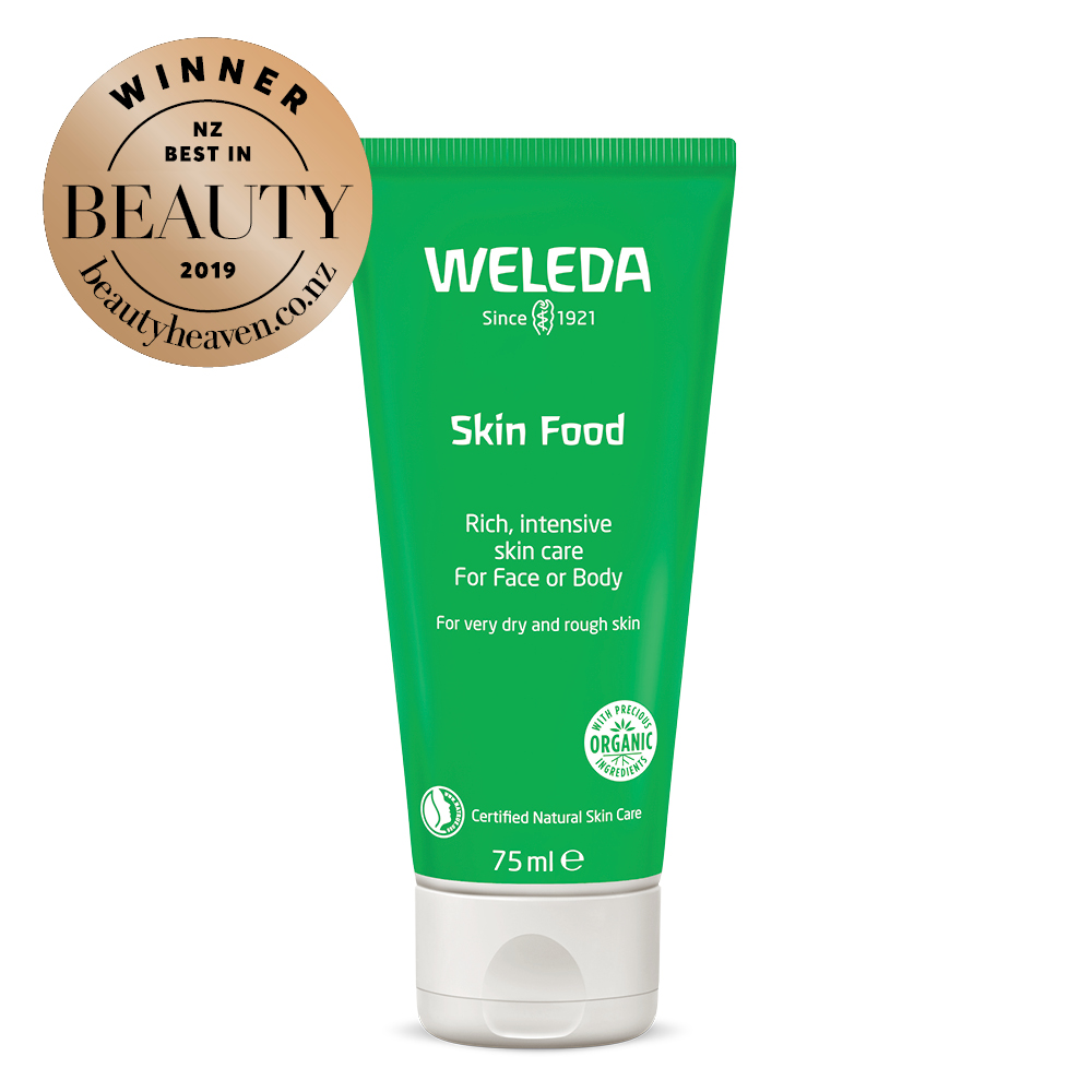 Weleda Skin Food 75ml inc award logo.jpg