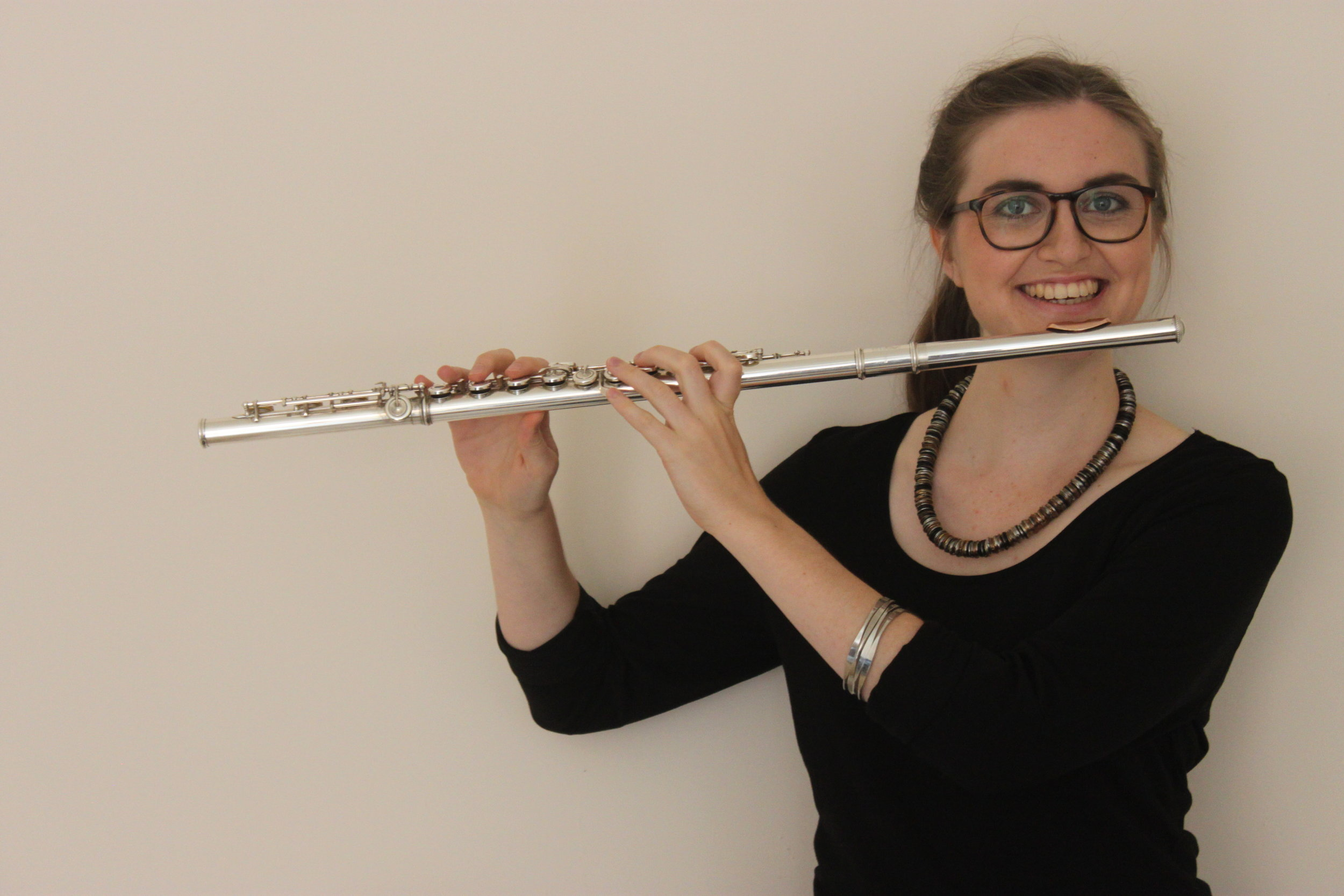 Hanna Vigren - Swedish flautist Hanna Vigren moved to Glasgow in 2016 after completing her Bachelor degree at the Academy of Music and Drama in her hometown, Gothenburg. In July 2018, she graduated from the Royal Conservatoire of Scotland with a Master's Degree in Music Performance. She studied with Katherine Bryan, Alison Mitchell and Janet Richardson during her masters, and is currently taking the continuing education course at RCS with lessons from Helen Brew and Ruth Morley. Hanna is a keen chamber musician and formed a duo with the soprano Héloïse Bernard in 2018. She also plays in aflute/cello/piano trio. Hanna is a volunteer at Drake Music Scotland and has been an assistant in SCO's Creative Learning projects: SCO VIBE and SCO Soundmoves during the summer 2019.We are glad that Hanna is joining daïmon for their Fringe performance of Eclipse.