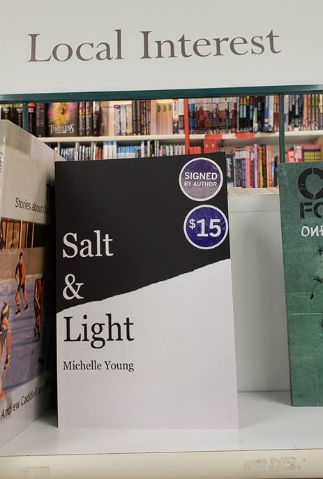 "Copies of ""Salt & Light"" at Coles Pembroke and Indigo.ca -"