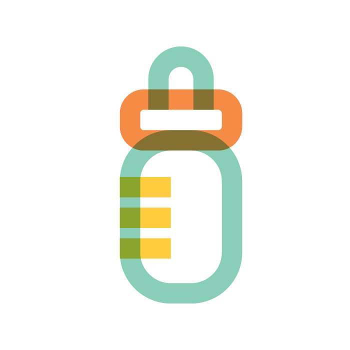 Baby bottle, 120ml