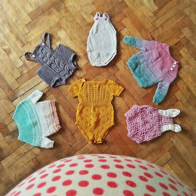 Yup, ready or not, she's coming real soon! . . These are the knits and crochet I made in preparation. I'm also working on the #ruffleromper by @knittingforolive  Which one is your favourite? . . . . #pregnancylife #gettingthere #excited #knitted #knitwear #loveknitting #lovecrochet #knittersofinstagram #crochetersofinstagram #babyfever #babygift #babyromper #yarnspiration #yarnlove #yarntherapy #yarnporn #ourmakerlife #babybump #craftstherapy #stitchandhustle #love #family #crochet #instakids #instacrochet #instaknit