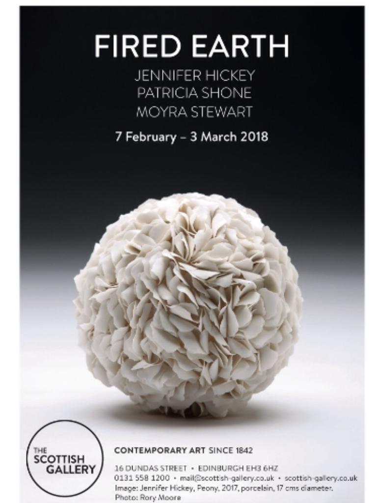 The Scottish Gallery Edinburgh 7th Feb-3rd March 2018 -