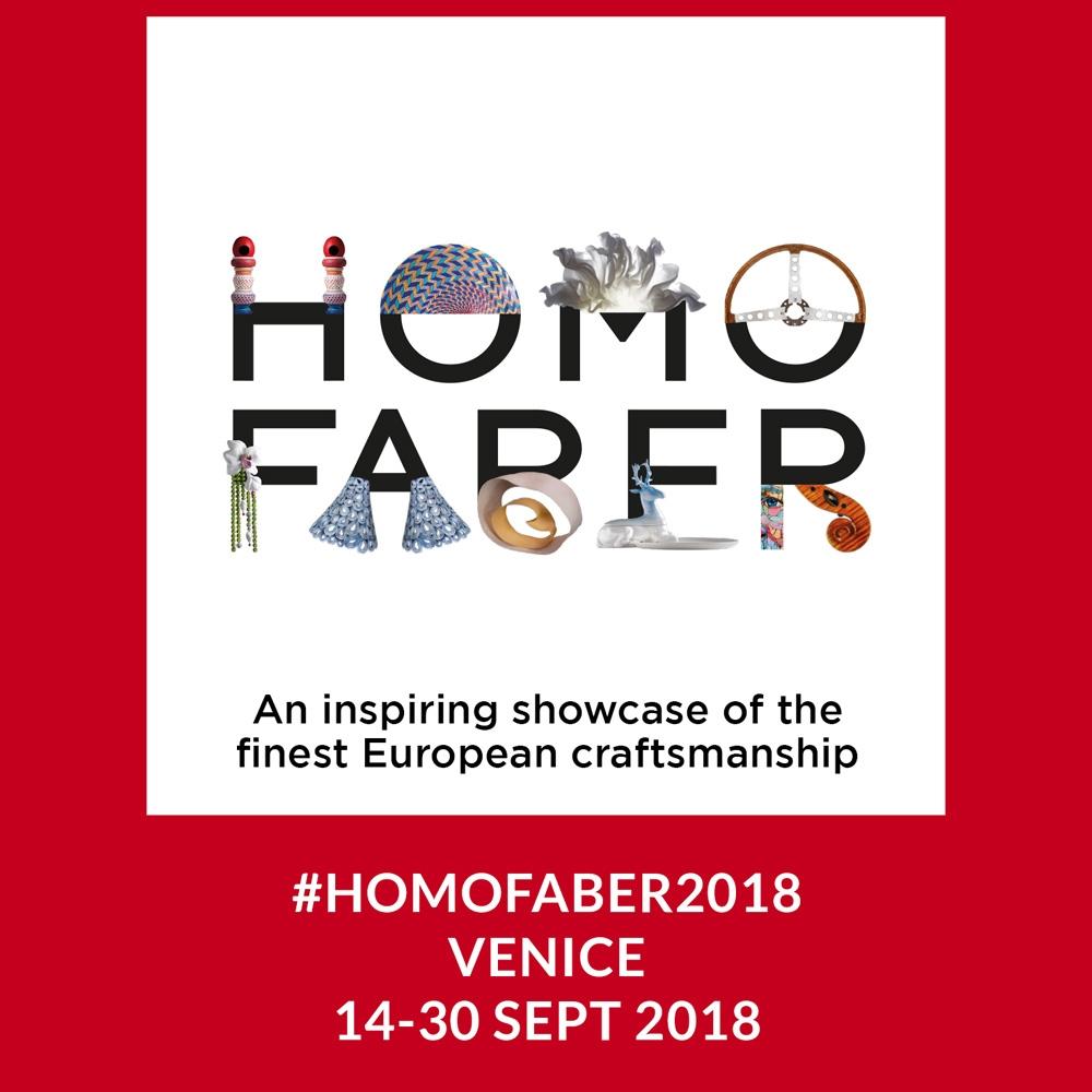 Homo Faber Exhibition Venice, Italy September 2018 -