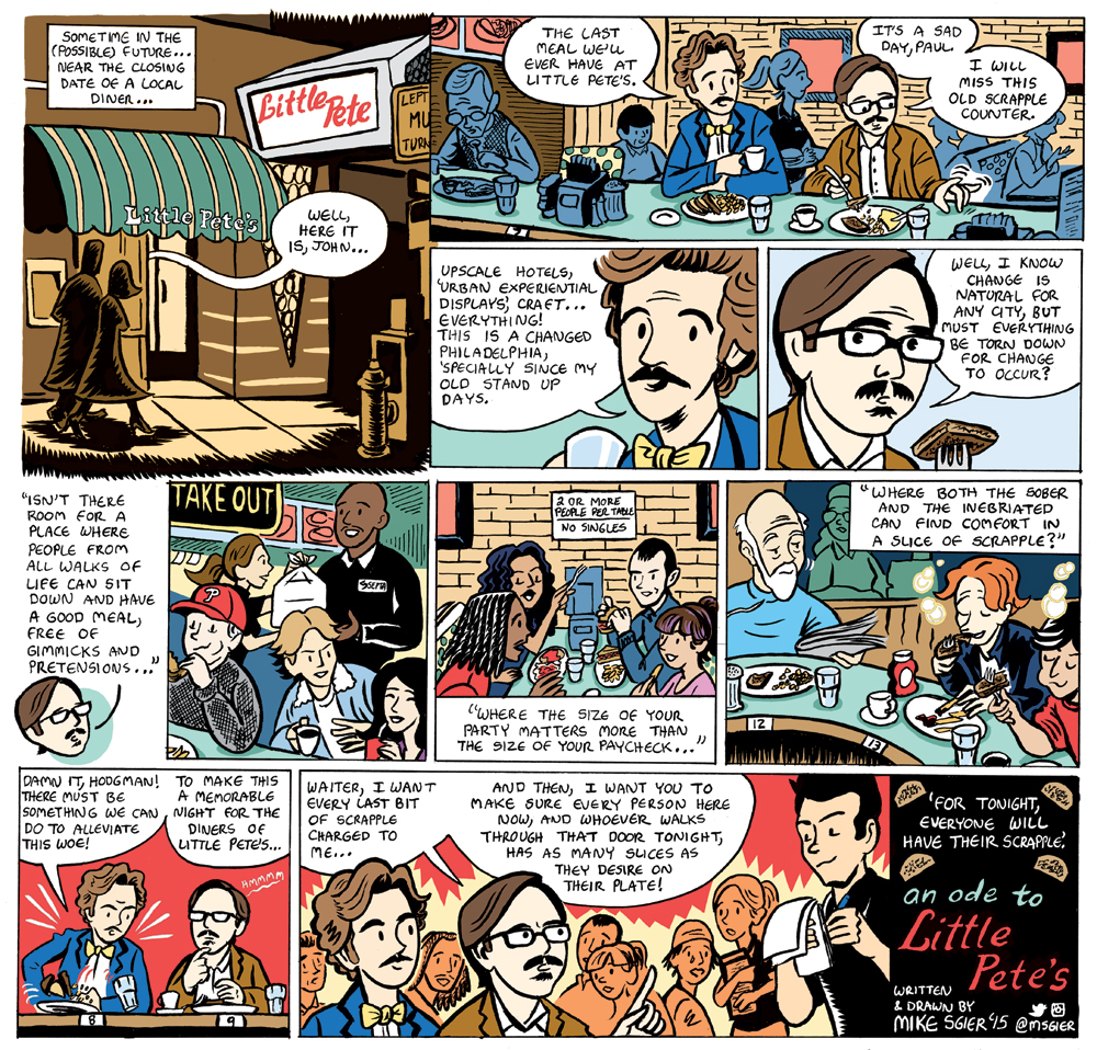 An Ode to Little Pete's  published in City Paper, Philadelphia, PA - 2015