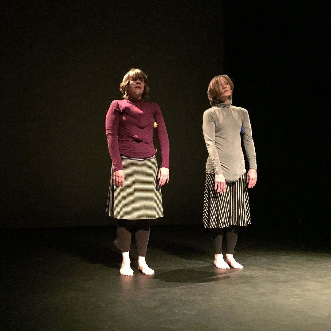 Dropping the Ball. Performers and Creators (L to R): Laura Zimmerman and Apryl Renee Pipe