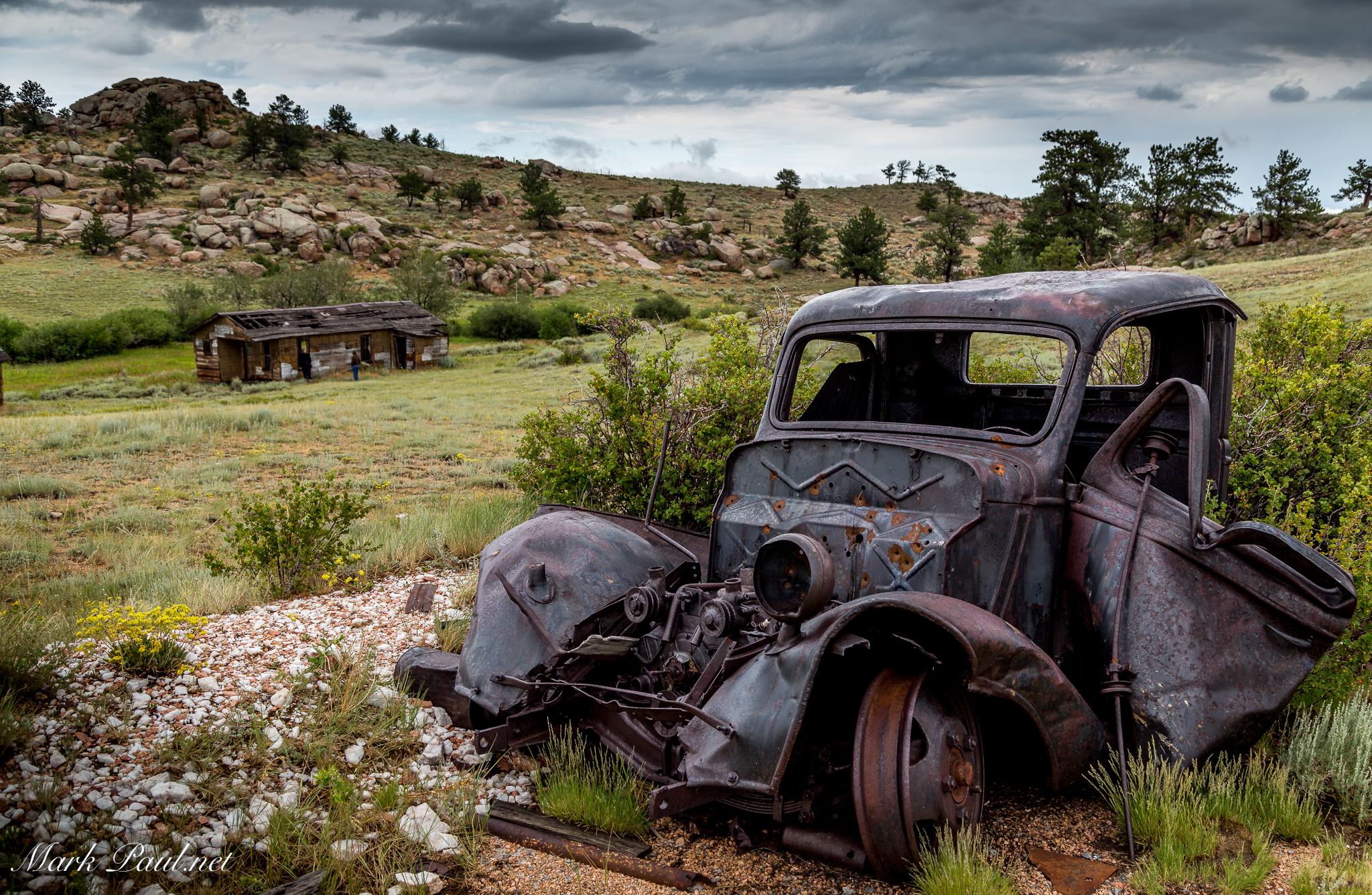 Abandoned Mine, Cheyenne, WY