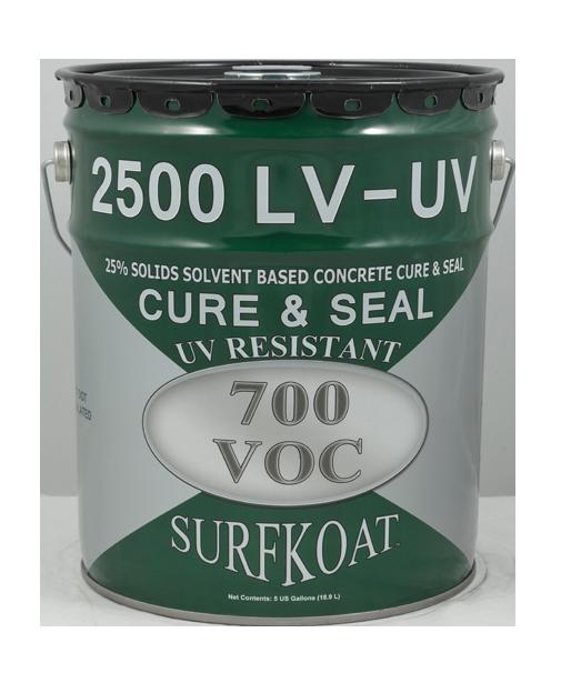 2500 LV UV    Tech Data Sheet