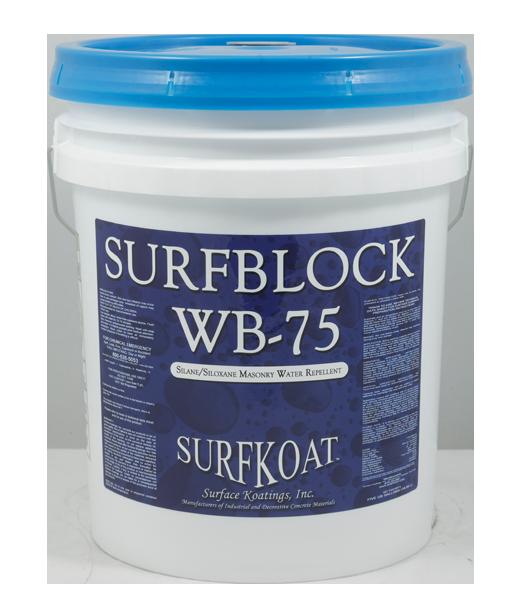 Surfblock WB-75    Tech Data Sheet