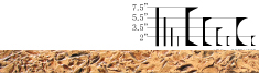 Denali Texture Edge Liner
