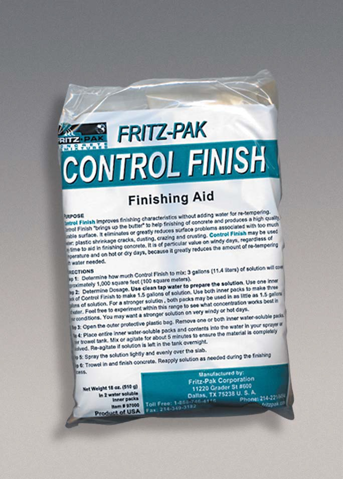 Fritz-Pak Control Finish