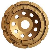 "4"" Double Row Cup Wheel"