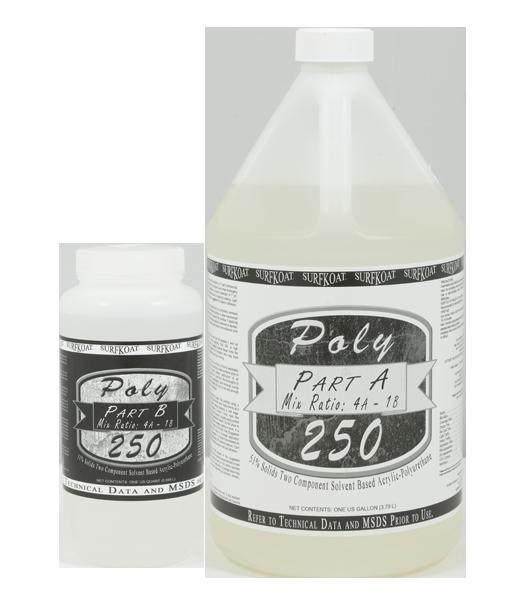 Poly 250 Acrylic Urethane