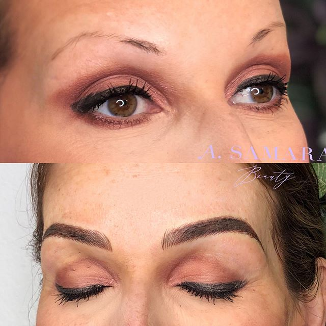 Brow transformation! From sparse hair to nice and fluffy brows with this Microblading and shade technique 😍 . . . #milwaukeemicroblading #microbladingnearme #bestmicrobladingnearme #microbladingbrows #phibrows #beforeandafterbrows #microbladingeyebrows #browsonfleek #naturalmicroblading #perfectbrows #microbladingmilwaukee #microbladinginmilwaukee #chicagomicroblading #microbladingchicago #beforeandafter #blondemicroblading #beforeandaftermicrobladingbrows #perfectbrows #threading #eyebrows #mkebrows #mkemicroblading #microbladingmilwaukee #microbladingchicago  #healediloveink #tinadavies #permanentmakeup #mkebrows #milwaukeeeyebrows #mkeeyebrows #sandiegomicroblading #milwaukeemicroblading #eyebrowtattoo #milwaukeebrowtattoo #wisconsinmicroblading
