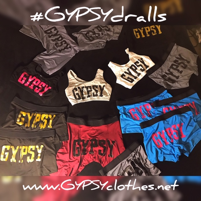 "GYPSYdralls - ""Got the dralls dog"""