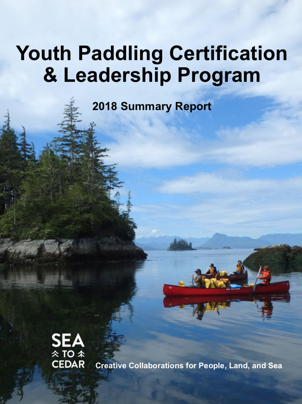 Youth Paddling Certification & Leadership Program — 2018 Summary Report