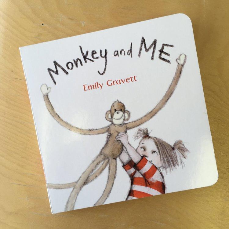 Monkey and Me  | Emily Gravett