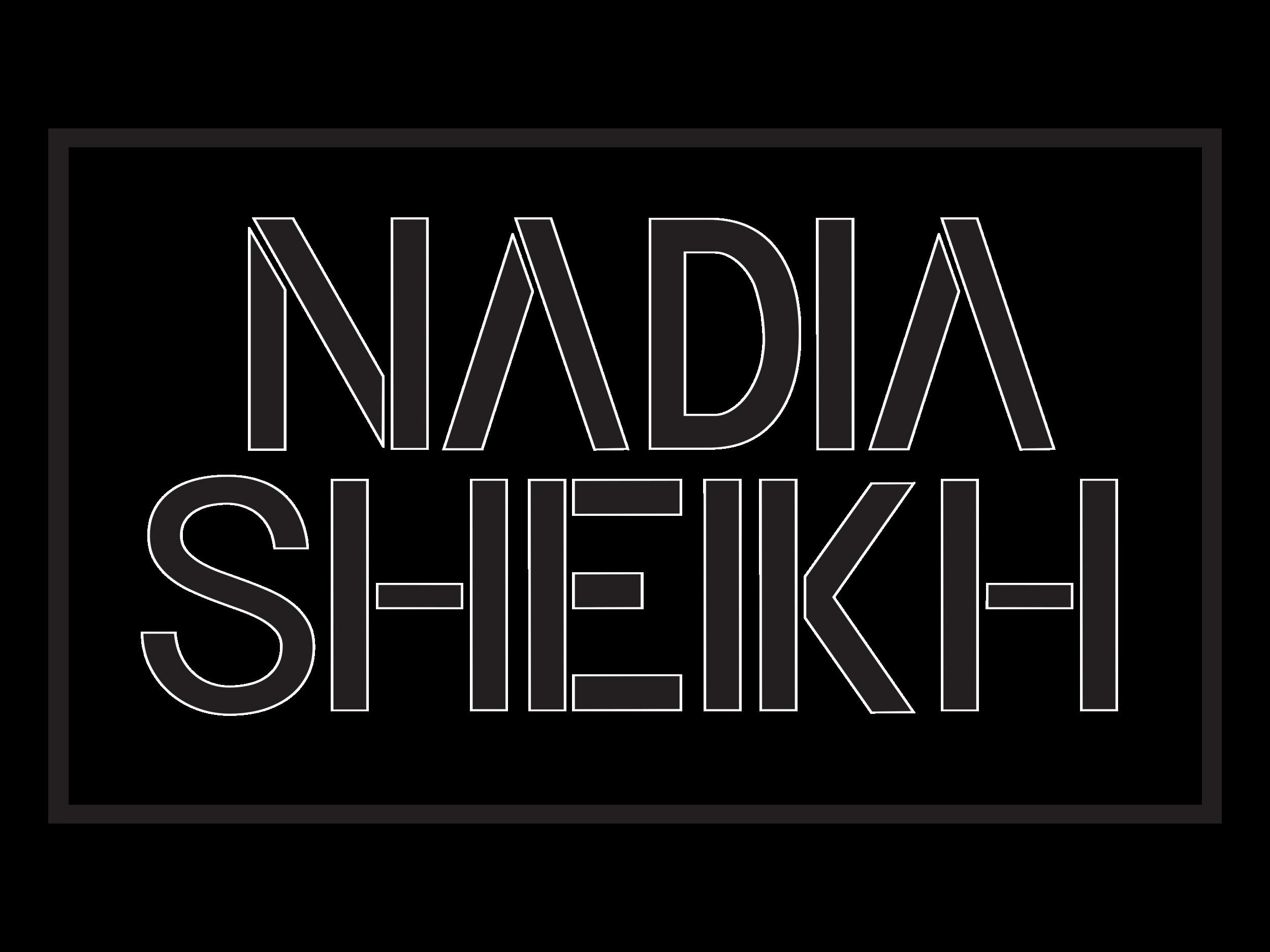 Nadia Sheikh Logo Black