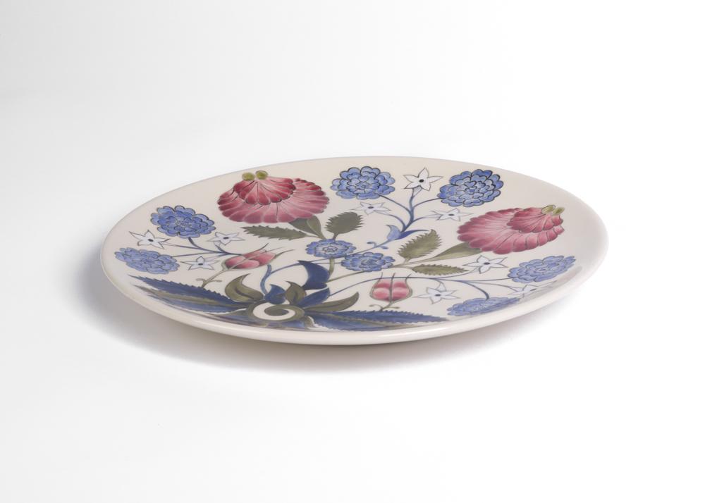 Ceramic plate, 28cm, 2018