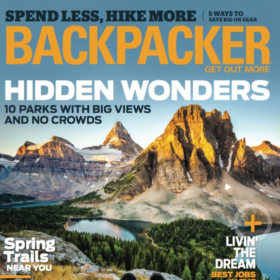 East Coast Alps   Backpacker Magazine — March 2016