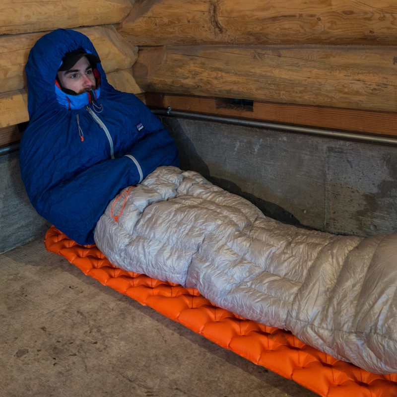 The Patagonia Hybrid Sleeping Bag: unconventional and efficient   Alpinist — March 28, 2017