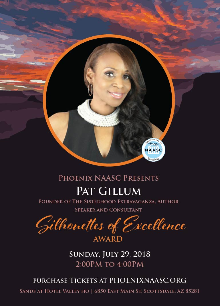 Pat Gillum  Founder of The Sisterhood Extravaganza, Author, Speaker and Consultant.