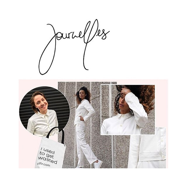 Thank you @journelles @lajessie & @alexandraktk for supporting the  @silfirdotcom crowdfunding campaign. Learn more about the soft workwear uniform & the vision of founder @hannahkromminga -  Read the full interview. Link in bio...