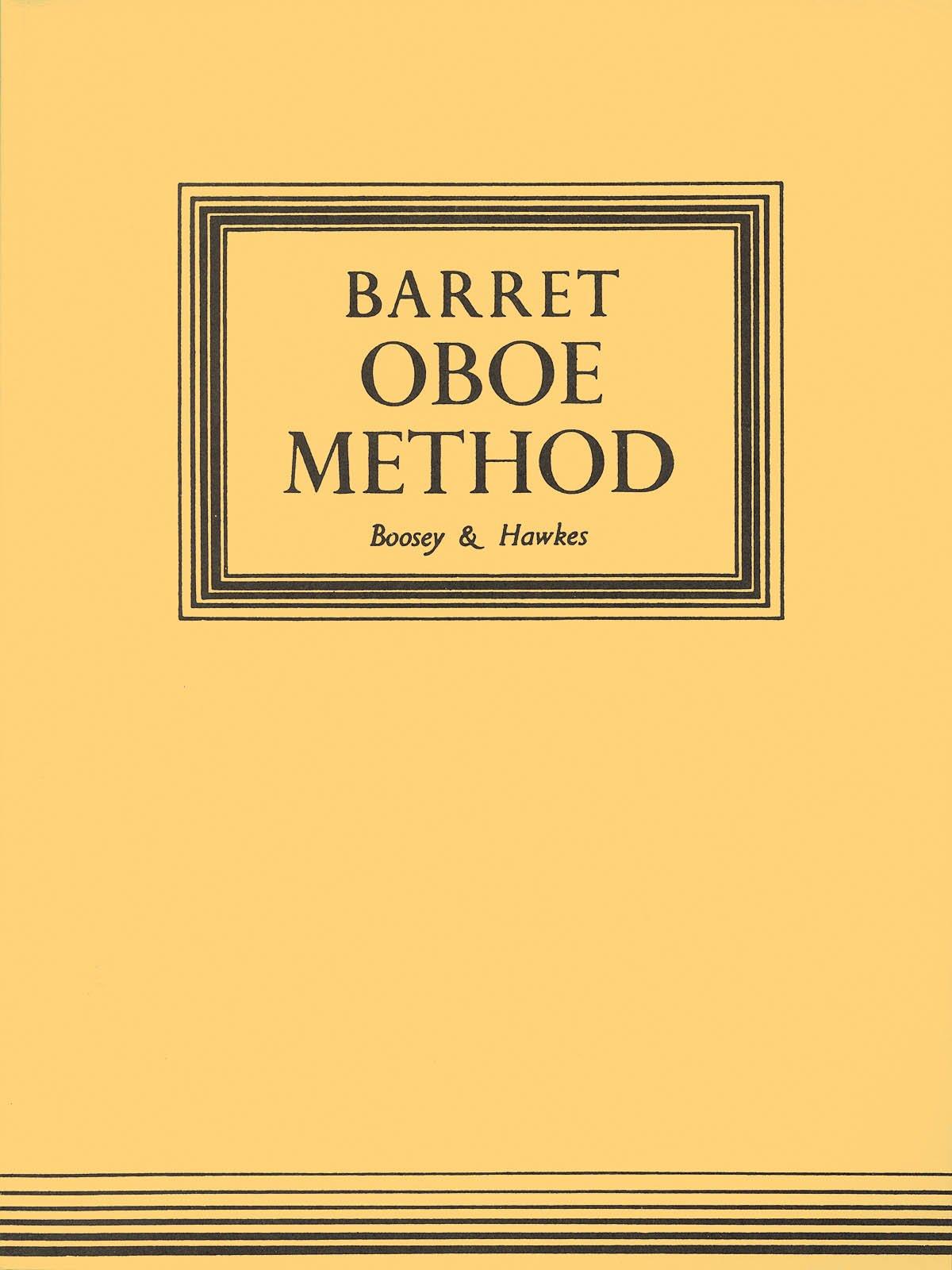 Oboe Method by Barret