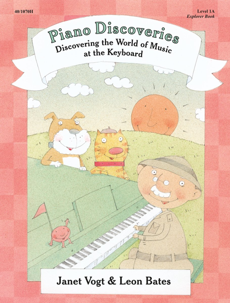 Piano Discoveries by Vogt & Bates