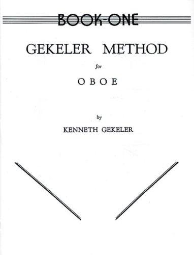 Gekeler Method for Oboe by Gekeler