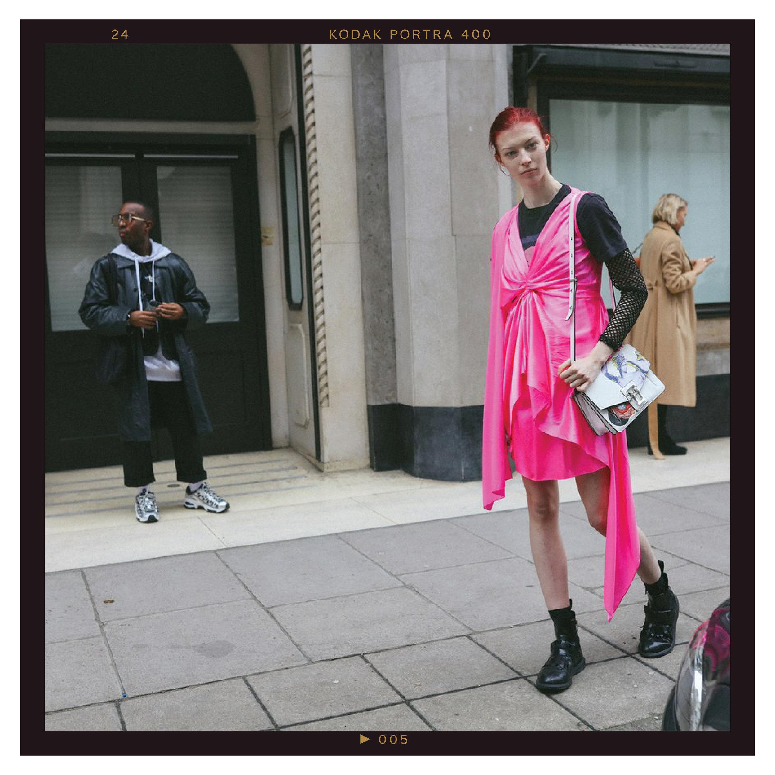 Remington Williams in a Sies Marjan dress