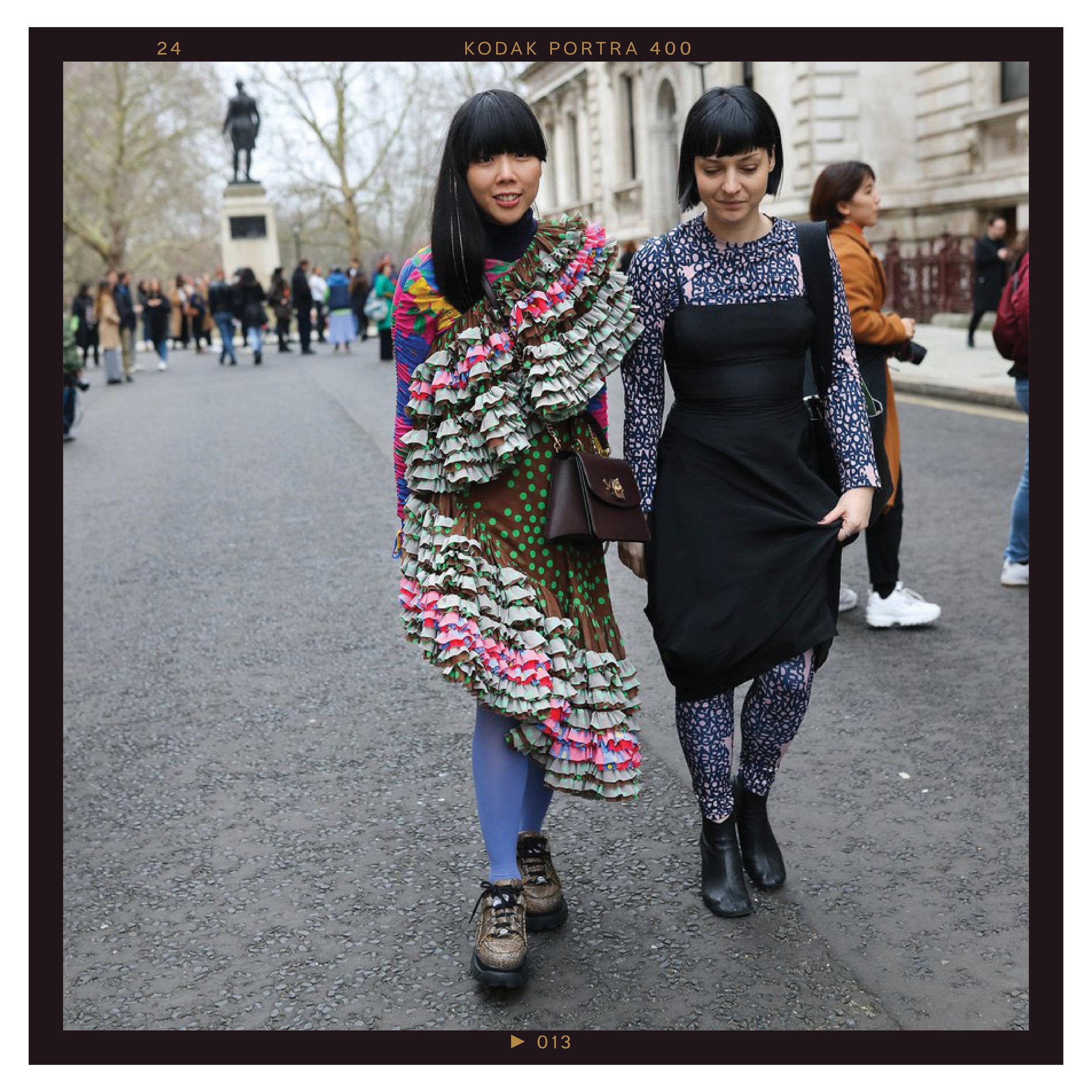 Susie Lau (left)