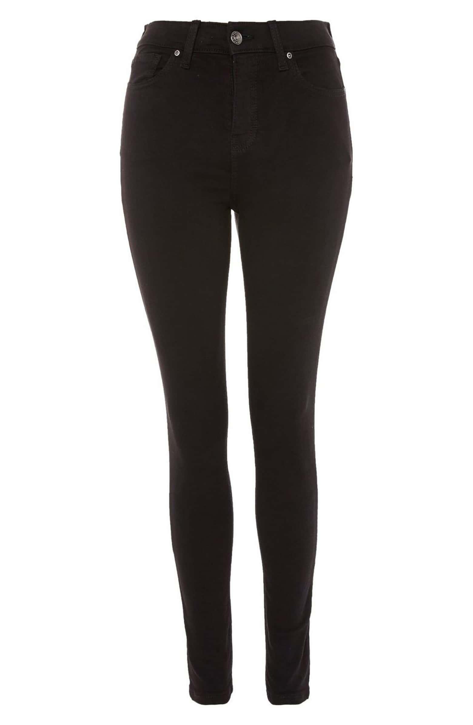 TOPSHOP Jamie Black Jeans, $70