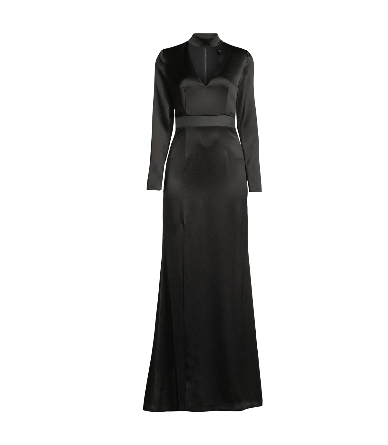 Alice + Olivia Arial Strong Shoulder Gown, $349