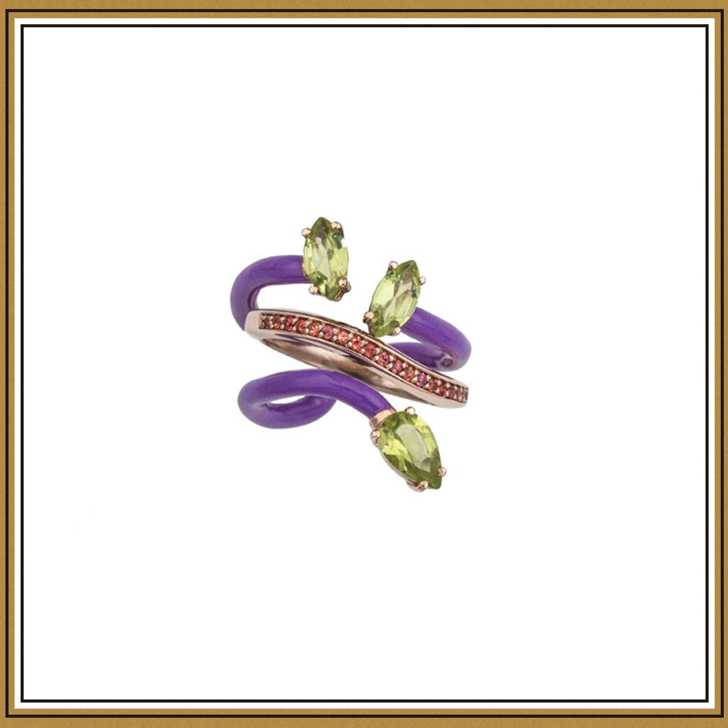 Bea Bongiasca Composable Vine Ring ($1376)