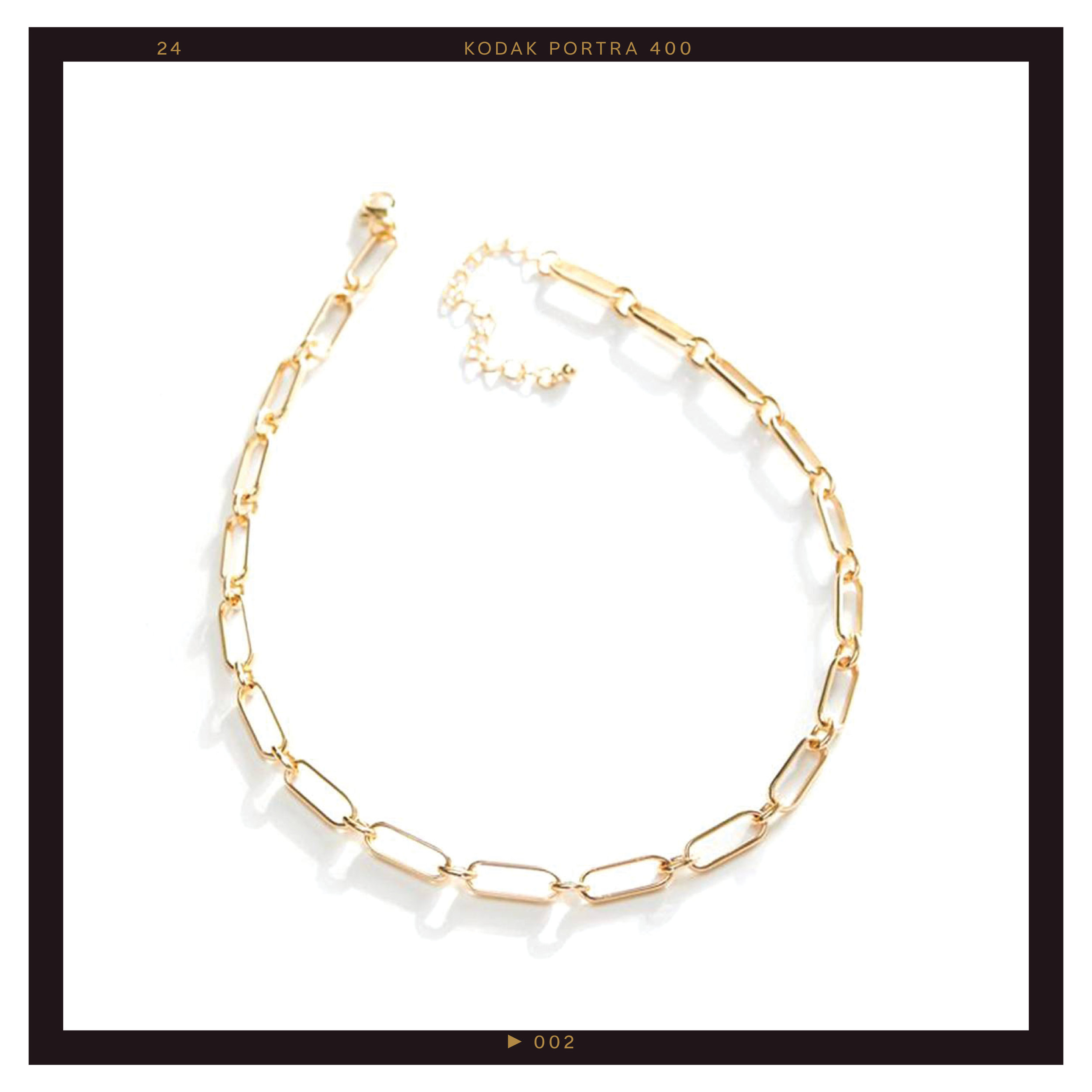 Urban Outfitters Harlow Link Chain Necklace ($20)