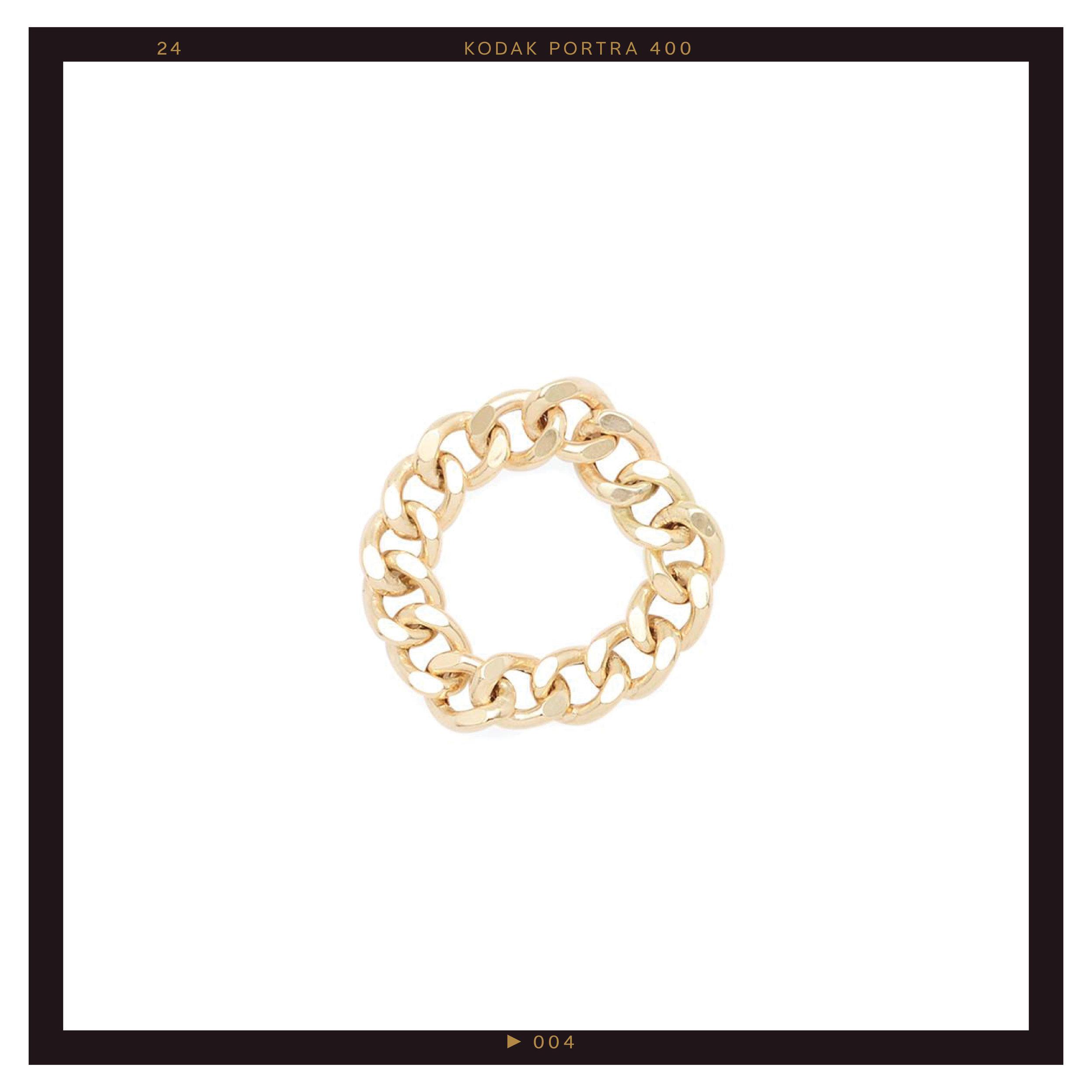 Mejuri Bold Chain Ring ($215)