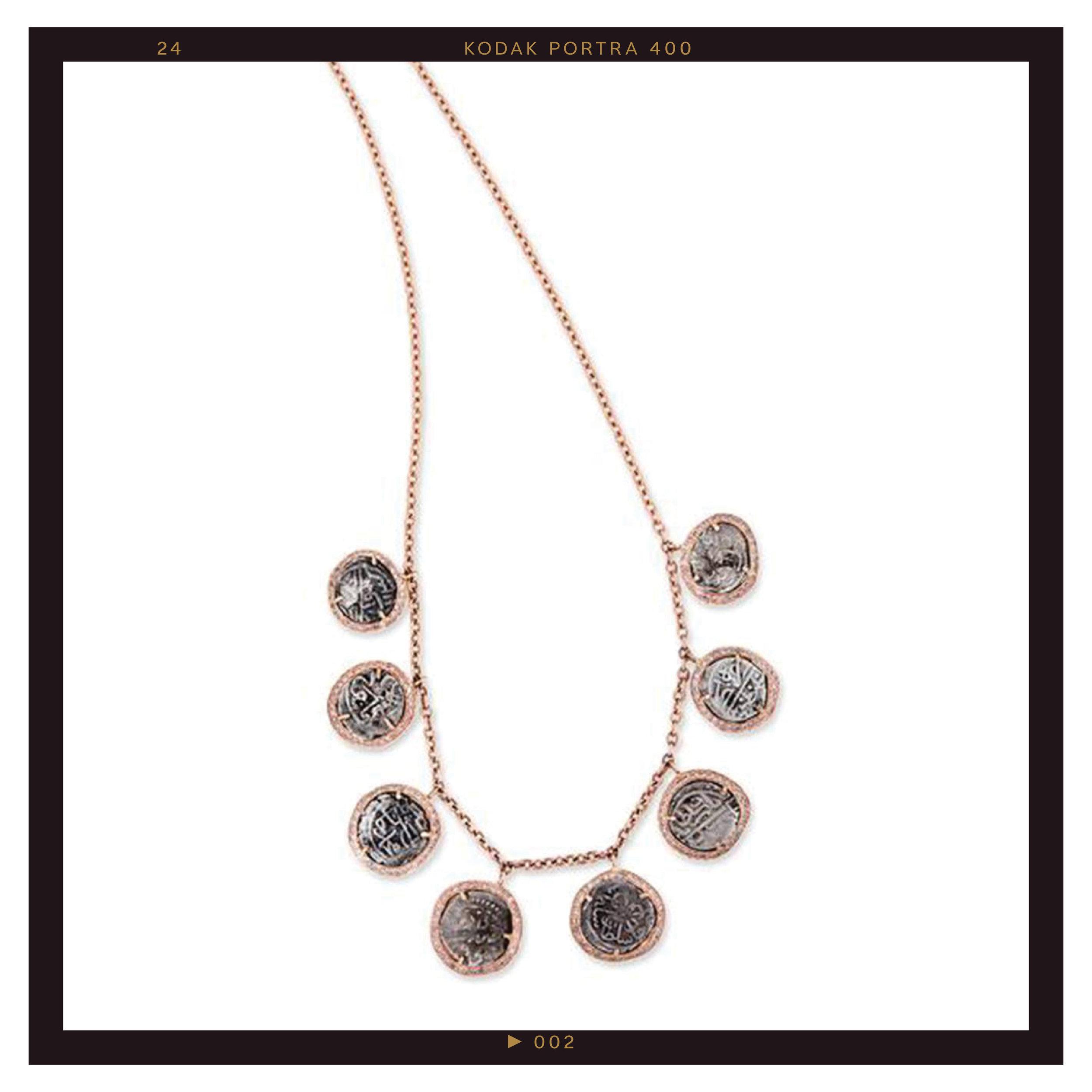 Jacquie Aiche Antique Coin Necklace ($16250)