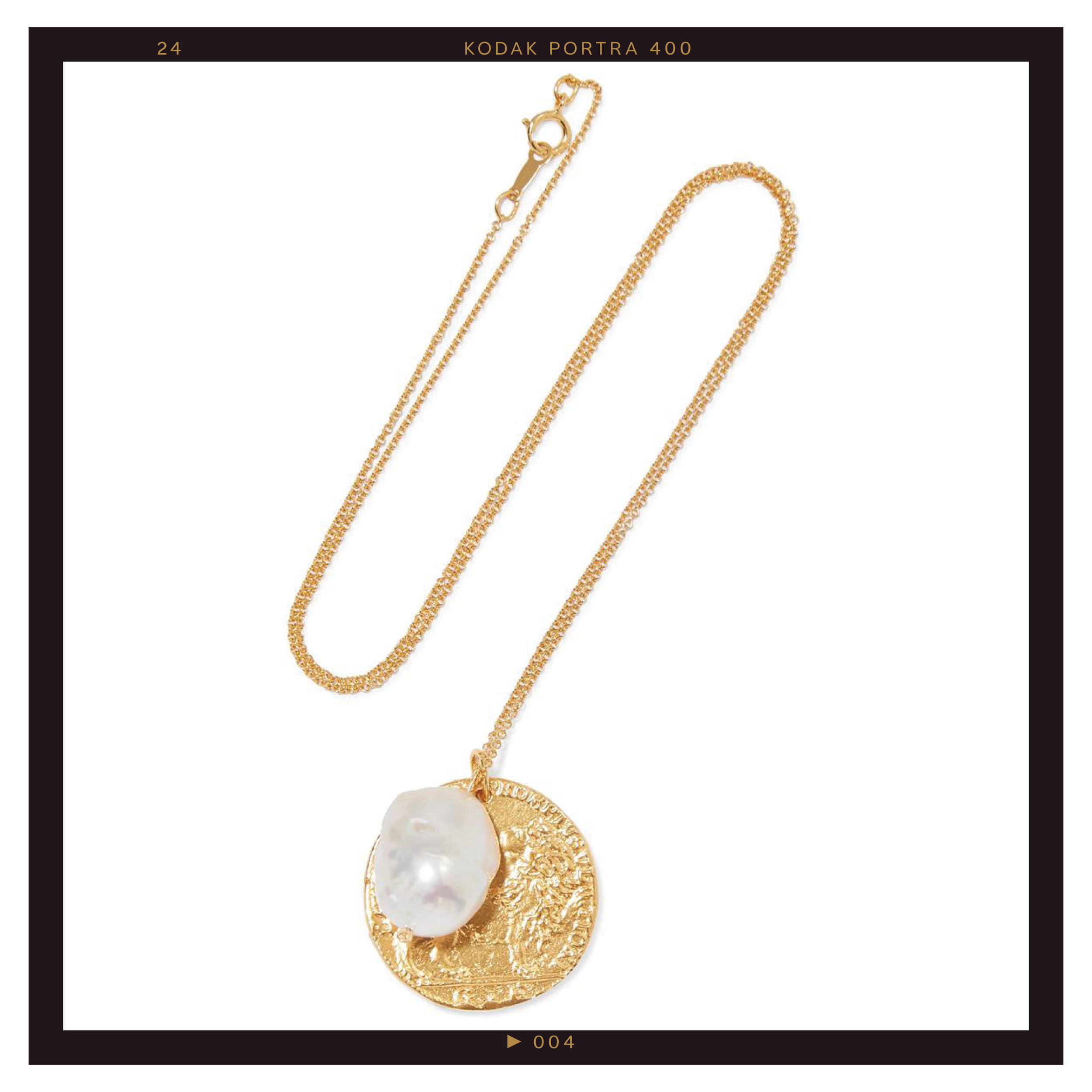 Alighieri The Remedy Chapter II Gold-Plated Pearl Necklace ($320)